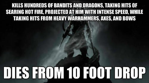 Skyrim,video game logic