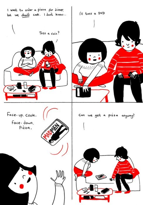 food dvds web comics ordering food - 7958366720