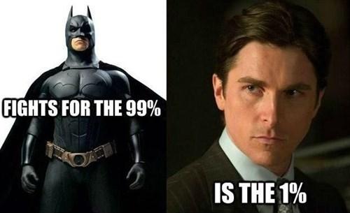 99 percent,batman,bruce wayne