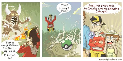 caterpie Pokémon web comics - 7958403328