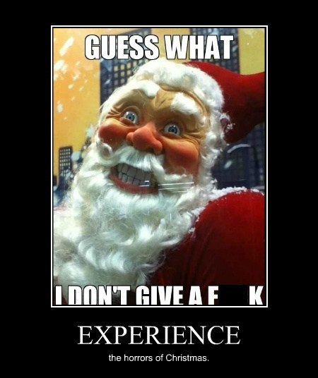 christmas funny scary horrifying santa wtf - 7958422016