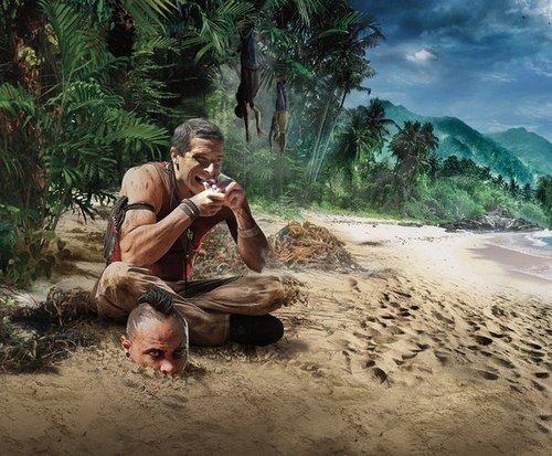 IF Bear Grylls Was Stuck in Far Cry 3