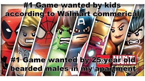 lego superheroes video games - 7958450176