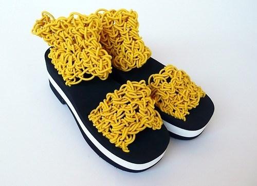 fashion wtf ramen sandals - 7958488576