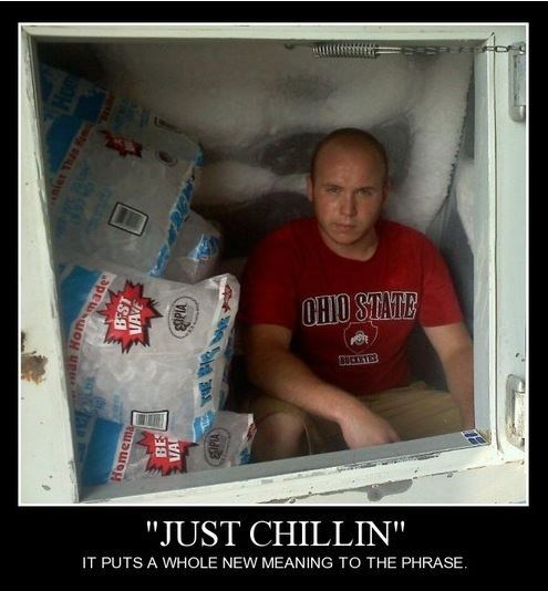 cold,chillin,funny