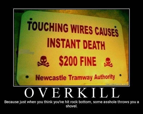 overkill,fine,Death,funny