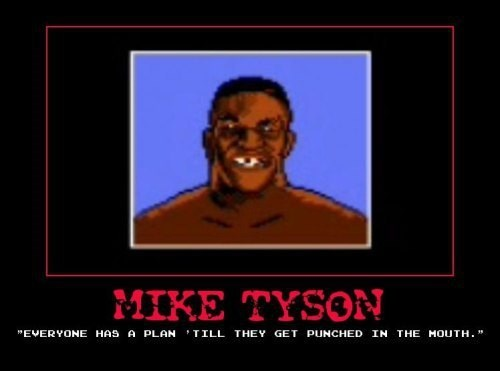 Punch Out quote funny mike tyson - 7958500352