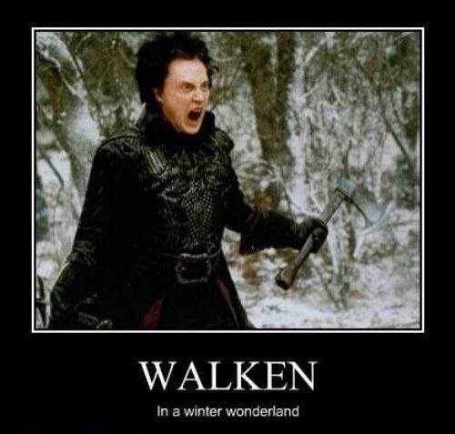 wonderland christopher walken winter funny - 7958501632