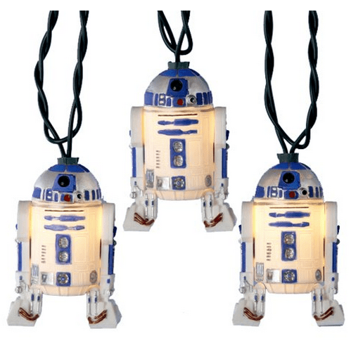 r2d2,christmas lights,holidays