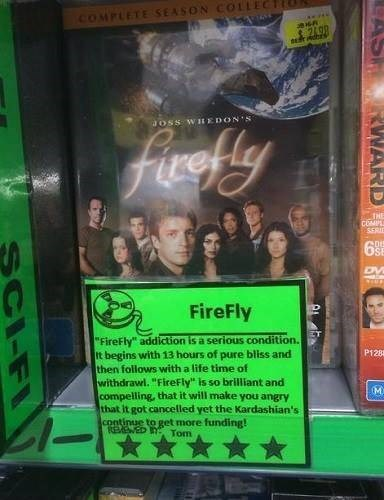 reviews DVD addiction Firefly - 7958518528