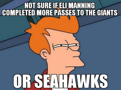 not sure if fry meme eli manning Memes