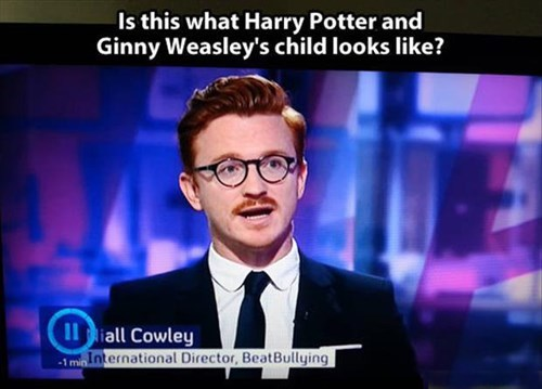 Harry Potter,totally looks like