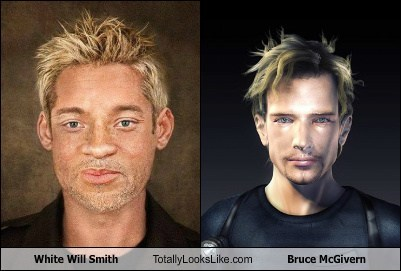 totally looks like,white,will smith,bruce mcgivern