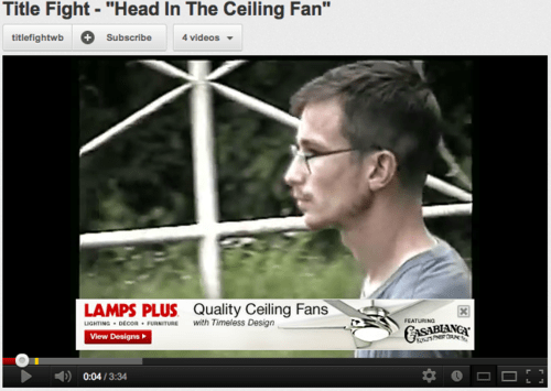 advertisements ceiling fans youtube