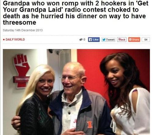 Probably bad News Grandpa news dating - 7958657536
