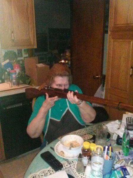 guns grandma safety first - 7958678016