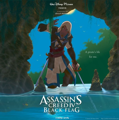 art assassins creed disney - 7958810624