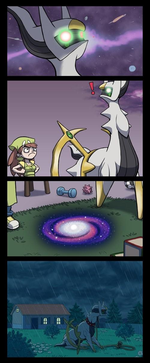 arceus Pokémon web comics - 7958838784