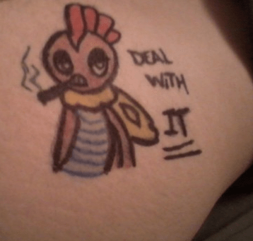 Pokémon,Deal With It,tattoos,why,g rated,Ugliest Tattoos