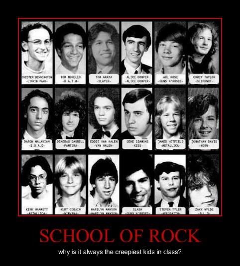 class School of Rock creepy funny - 7958915328