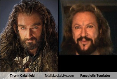 totally looks like,thorin oakshield,panagiotis tourlatos