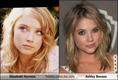 elisabeth harnois ashley benson totally looks like