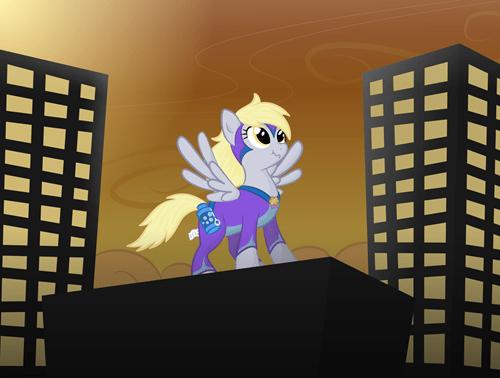derpy hooves superheroes power ponies - 7959232256