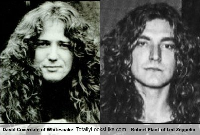david coverdale led zeppelin whitesnake robert plant totally looks like