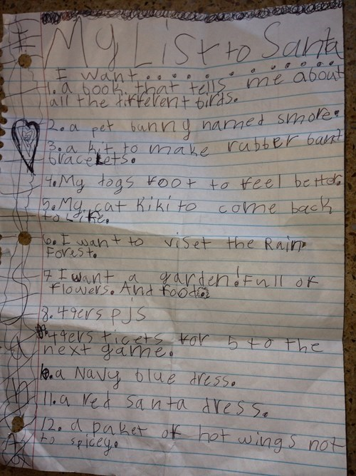 kids letters parenting santa claus g rated - 7959670528