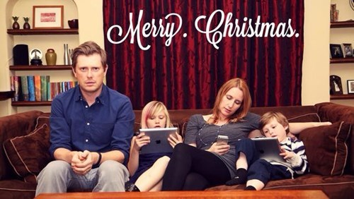 christmas cards,parenting,technology,g rated