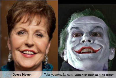 jack nicholson,joker,joyce meyer,totally looks like