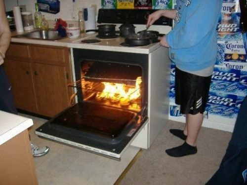 fire there I fixed it ovens