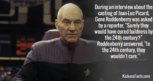 gene roddenberry Star Trek TNG patrick stewat - 7960162816