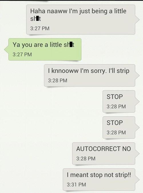 autocorrect text AutocoWrecks apologie - 7960209664