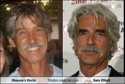 totally looks like,uncle,sam elliott