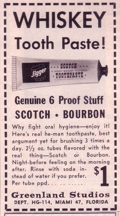 funny toothpaste scotch whiskey after 12 g rated - 7960486656