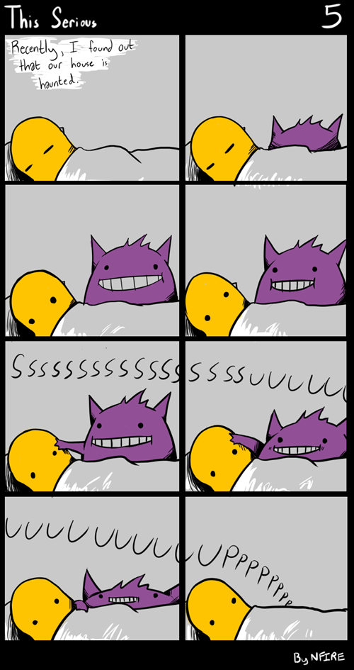 charmander gengar Pokémon web comics - 7960519424