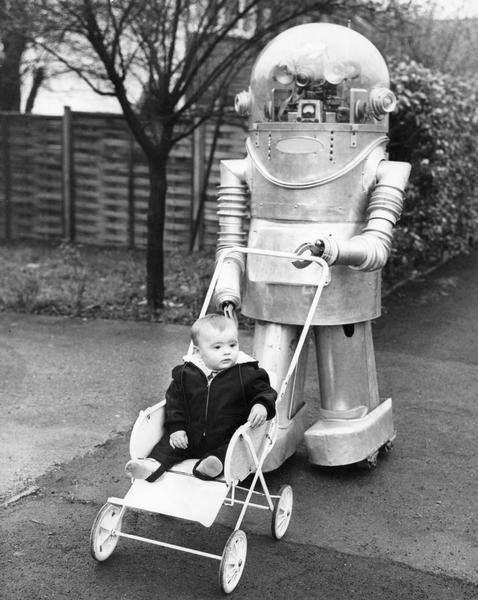 Babies,robots,wtf