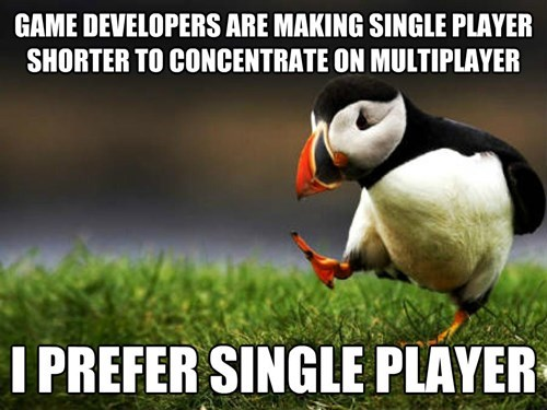 Memes video games unpopular opinion puffin - 7960629504