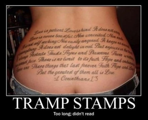 booty Sexy Ladies funny tattoos - 7960634112