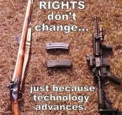 guns freedom rights