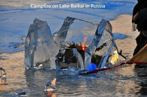 BAMF camping fire only in russia - 7960731392