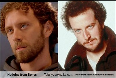 bones Home Alone totally looks like marv hodgins