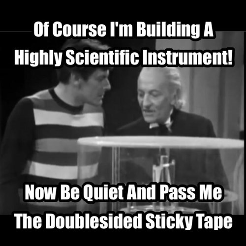 classic who 1st doctor - 7961636352