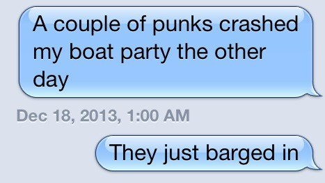 boat puns punk text - 7961807360
