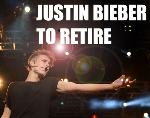 justin bieber Music Retiring g rated - 7961807872