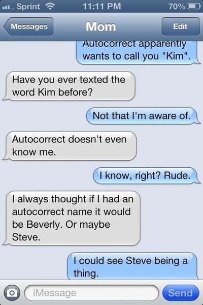 autocorrect moms names text AutocoWrecks - 7961857280