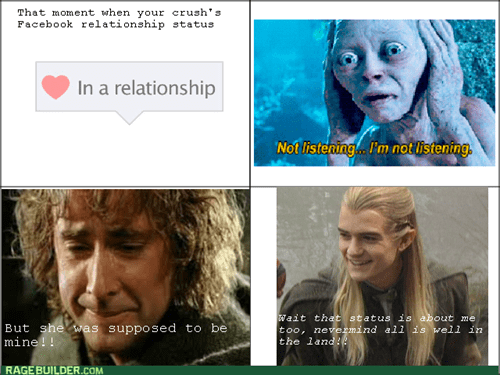 crushes reactions Lord of the Rings - 7961963776