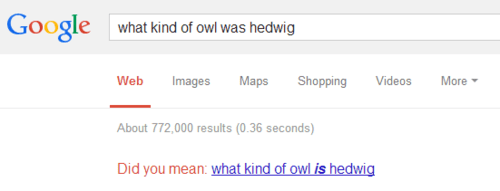 autocomplete hedwig Harry Potter google owls - 7962038528