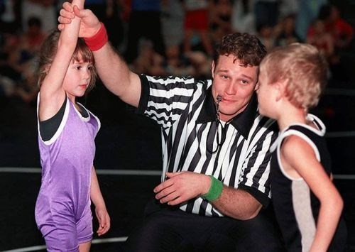 cute referee sports wrestling - 7962097664